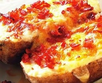 Bacon baked potato