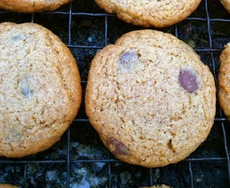 Malted Choc Chip Cookies