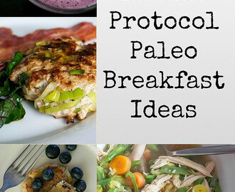 29 AIP (Auto Immune Protocol) Paleo Breakfast Ideas