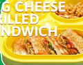 The step by step guide to making Vegetable cheese grilled sandwich