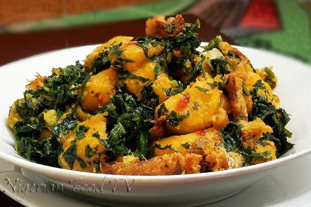 Nigerian Plantain Porridge