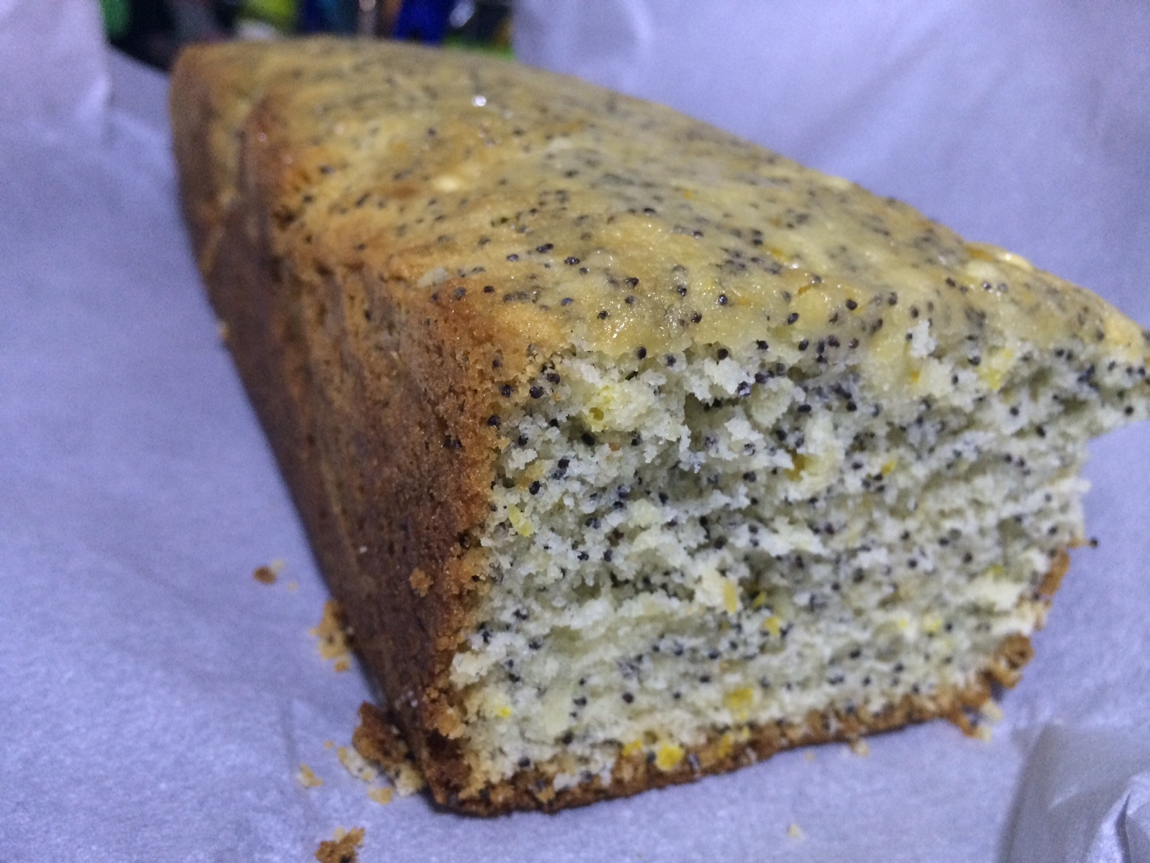 Ode to my Lemon Poppy Seed Loaf