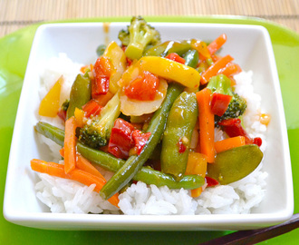 Quick Sweet & Sour Stir Fry