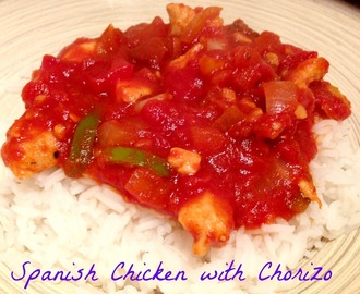 Spanish Chicken with Chorizo
