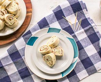Turkey ranch tortilla pinwheels