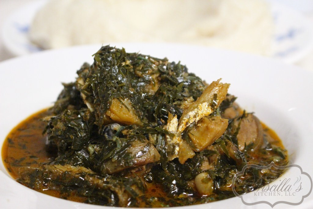 Okazi Soup – Ekpeye Way!