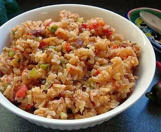 Spanish Style Rice for BBQ Cookouts