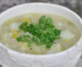 Chunky Irish Potato & Leek Soup
