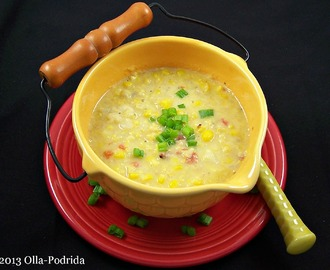 Corn and Red Bell Pepper Chowder