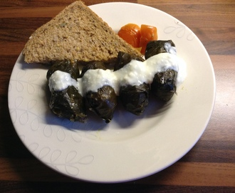 Romanian Stuffed Vine Leaves
