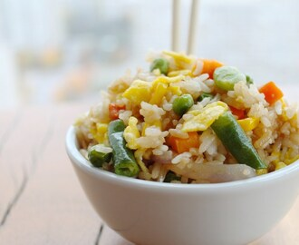 Fried Rice in 5 Easy To Follow Steps