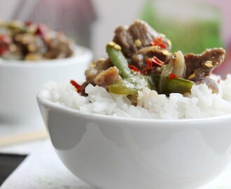 Gingered Beef & Jasmine Rice