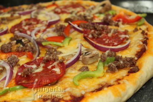Italian Pizza | Enjoyed by Nigerians