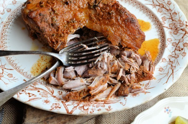 Slow Cooking with the Ginger Pig! Pulled Pork with a Spicy Rub (Slow Cooker/Crock Pot) Recipe