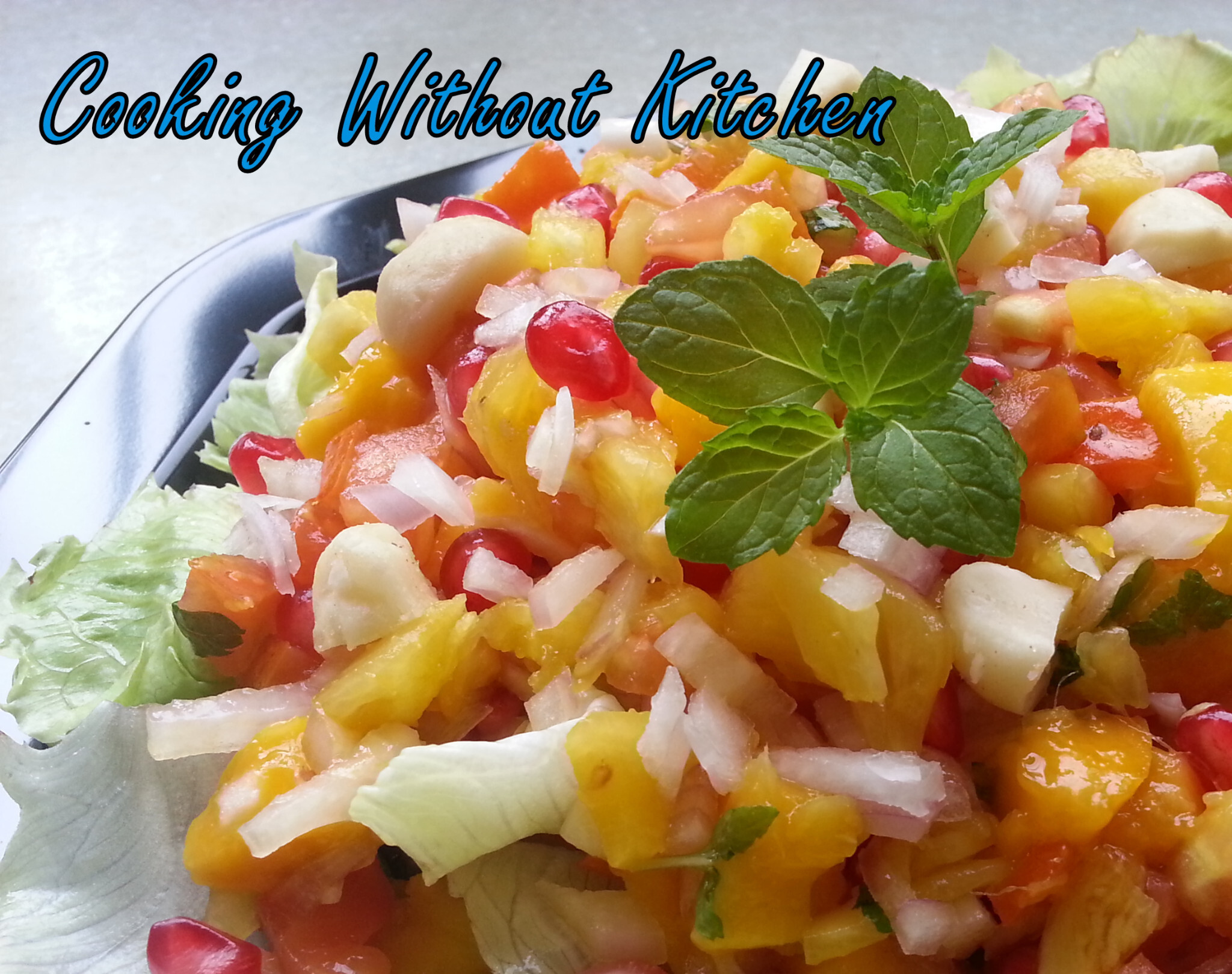 Tropical Salsa and Masala Guava Slices