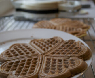 Healthy waffle recipe- light, fluffy and fat-free