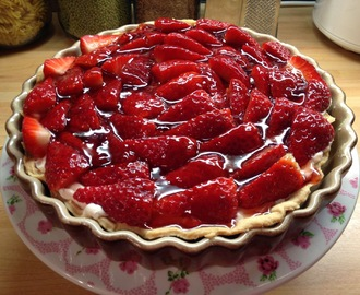 Vegan Recipe of the Week - Strawberry Tart