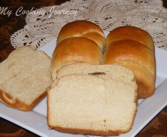 Whole Wheat/Whole Meal bread Using Tangzhong Method (Baking Partners)