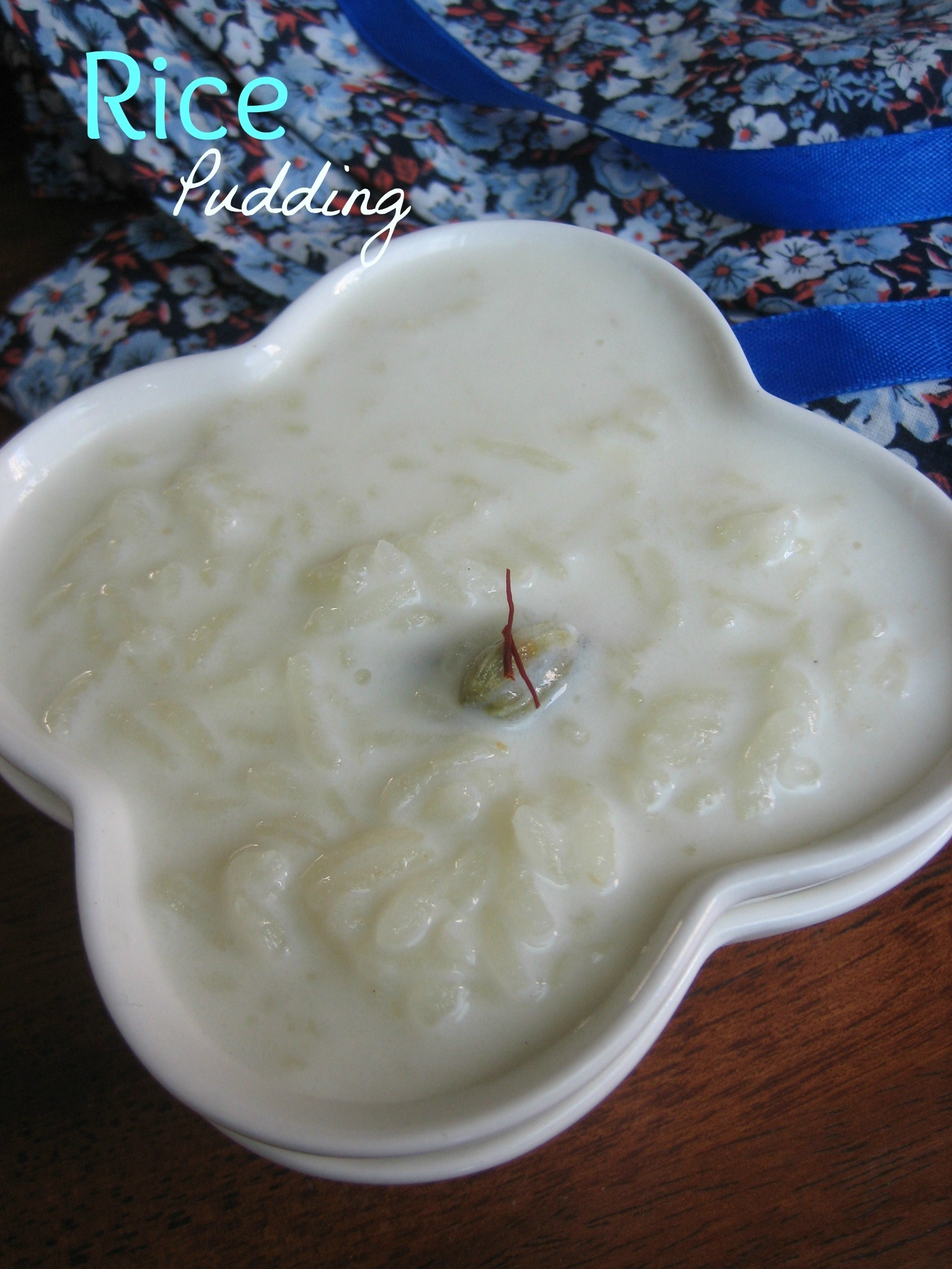 Rice kheer/Pudding