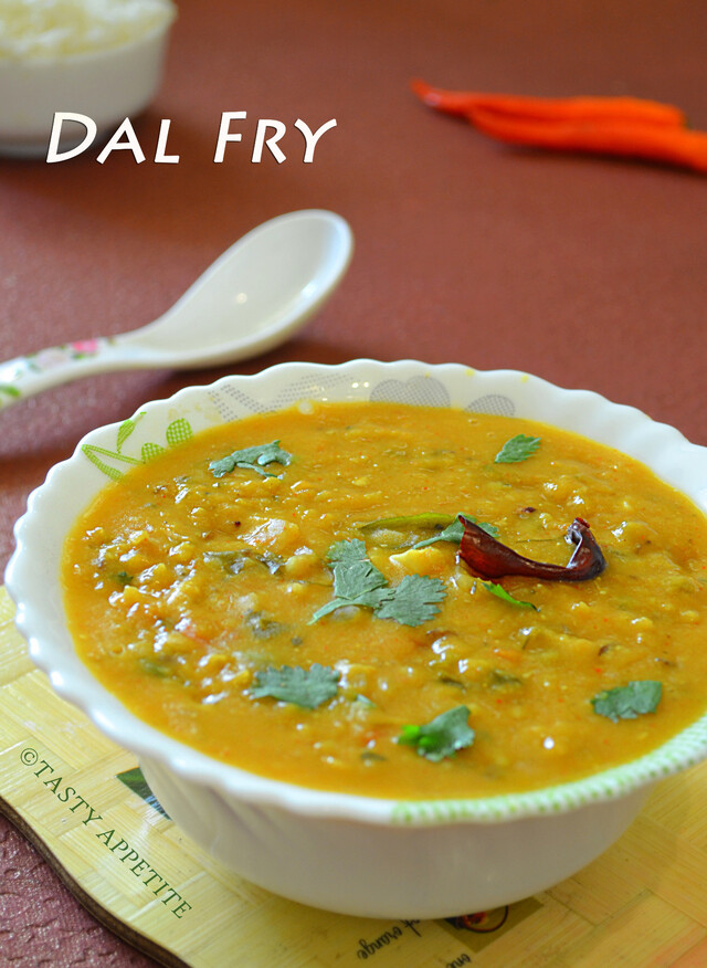 How to make Dal Fry / Spicy Dal Fry Recipe / Step-by-Step: