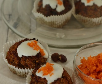 Der Low Carb Liebling der Woche: Carrot Cake Cupcakes