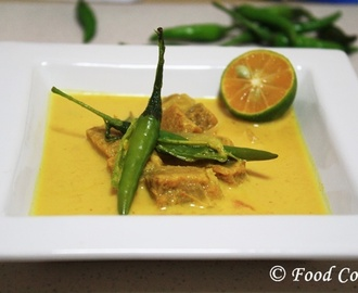 Sri Lankan Dried Fish Curry