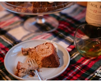 Burns Night Scotch Whiskey Cake