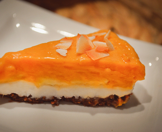 Creamy 4-layer butterscotch pie