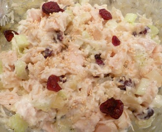 Easy Chicken Salad:  Sweet and healthy too! #6