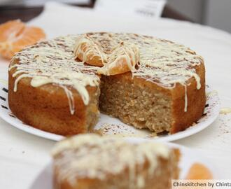 Free from Friday's: Egg Free Cinnamon and Clove Spiced Clementine and Semolina cake