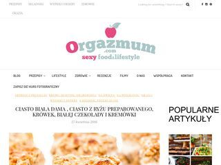 Orgazmum – Sexy food and lifestyle