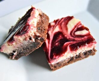 Višnja-cheesecake brownies