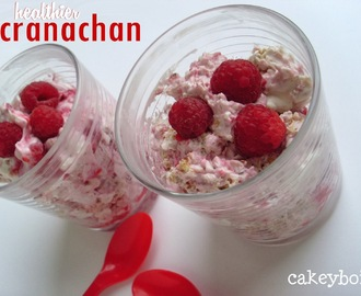 Healthier Cranachan for Burn's Night