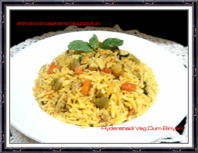 Hyderabad Veg Dum Biriyani | Quick Biriyani Recipe | SNC Post