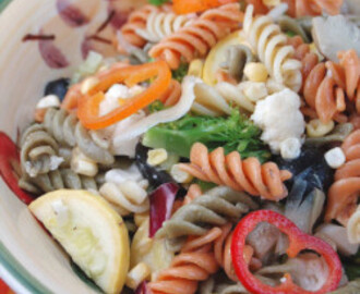 Loaded Vegetable Pasta Salad