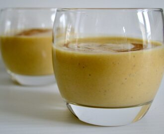 Gluten and Dairy Free Pumpkin Pie Smoothie