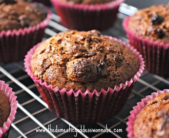 chocolate maltesers crunch muffins