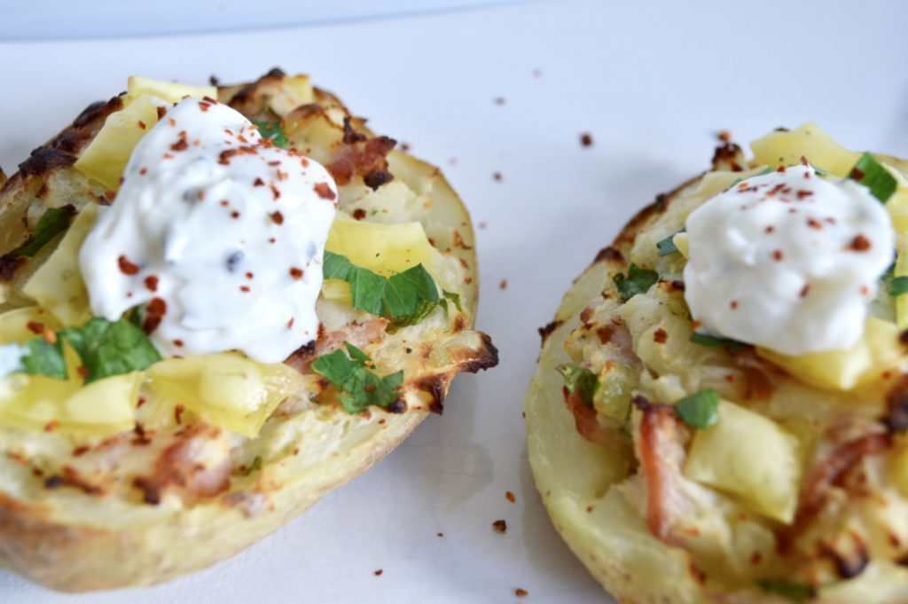 Gluten and Dairy Free Twice Baked Potatoes