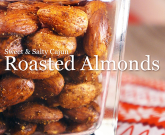 Sweet & Salty Cajun Roasted Almonds