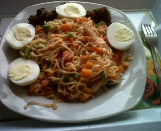 MIX VEG NOODLES BY @chinenye070