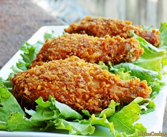 "Crispy Chicken:  The ""KFC"" way."