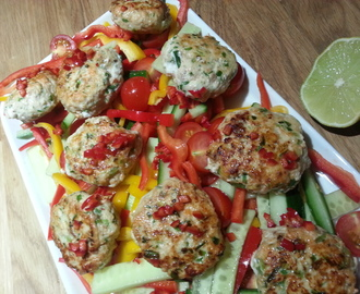 Salmon and Ginger Fishcakes