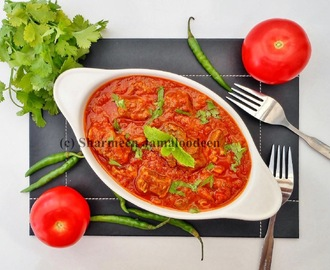 Spicy Beef in Tomato Sauce ( Rougaille La Viande)