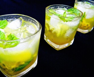 Passion fruit Mojito (Non-Alcoholic)
