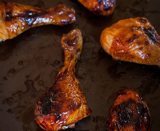 Sticky Sweet Chicken Drumsticks.