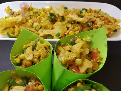 How to Make Street Style, Instant and Spicy Corn Bhel