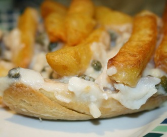 Fish and Chip Pie - a Homage to Marks & Spencer