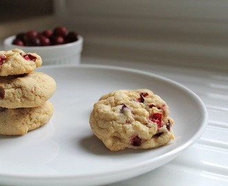 Cranberry Kitchen Cookies - vegan
