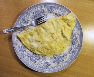 Arkipäivän lounasmunakas – Easy Omelette for Lunch