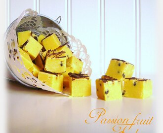 Passion fruit Fudge (Passionsfudge)